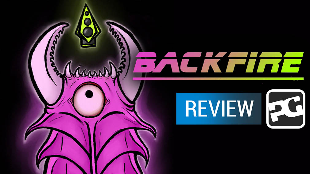 "BackFire video review - ""A brutal blaster with hidden depths"""