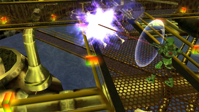 Alien Syndrome screenshot presence detected on PSP