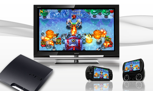 Sony confirms first PS3 compatible PSP Minis titles