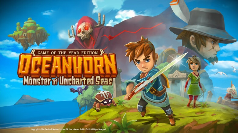 Oceanhorn: Game of the Year Edition is out right now for iPhone and iPad, and involves a lot of fishing