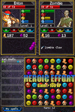 Puzzle Quest challenges both DS and PSP