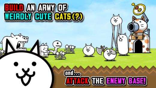 Help feline fighters rampage across the globe in The Battle Cats
