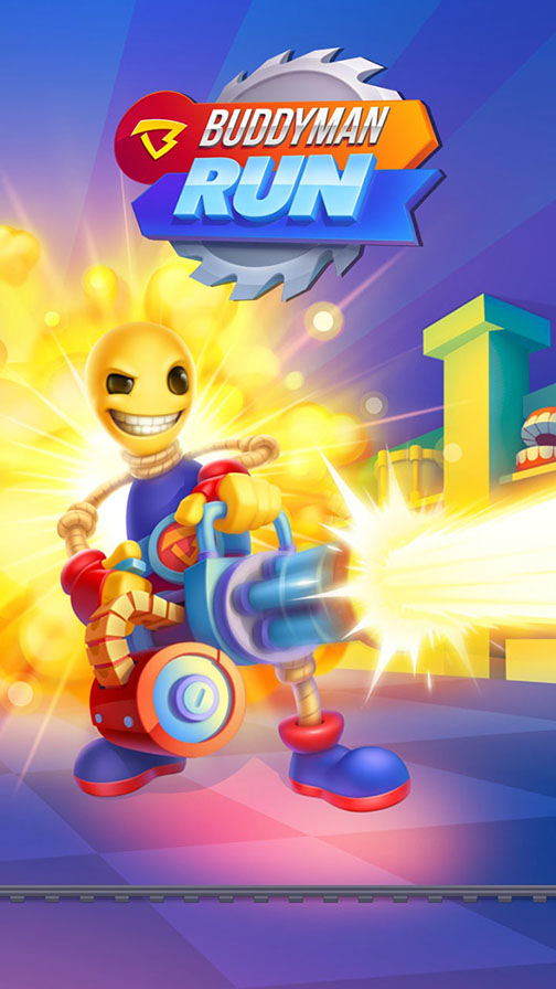 Prepare for mayhem as Buddyman Run blasts its way onto the App Store