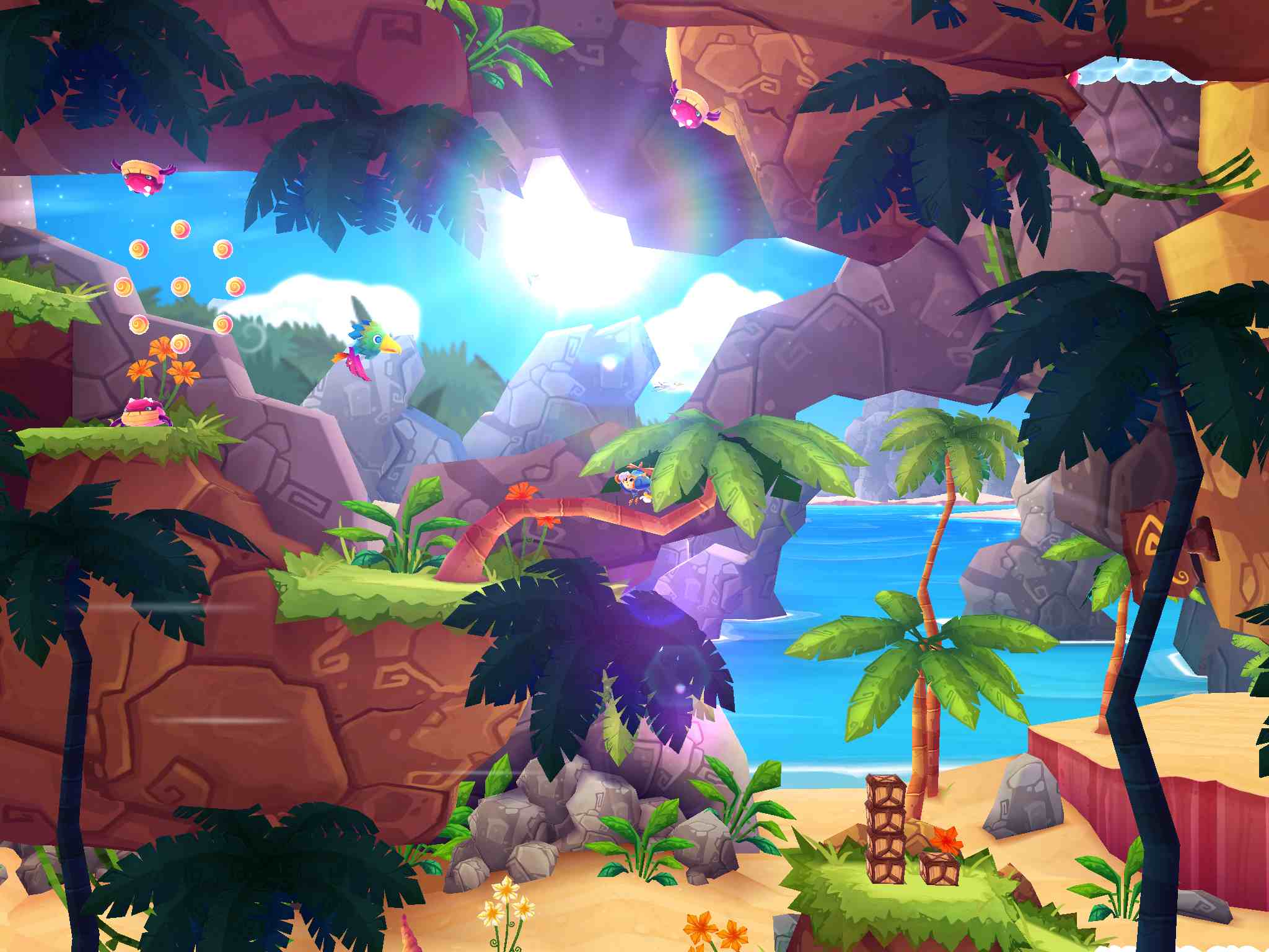 Sega's propeller platformer Heroki gets its first price drop on iOS, and it's a big one