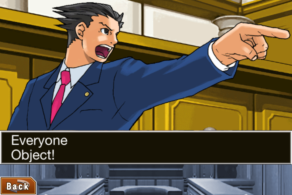 Phoenix Wright: Ace Attorney Trilogy HD for iOS locked up until July