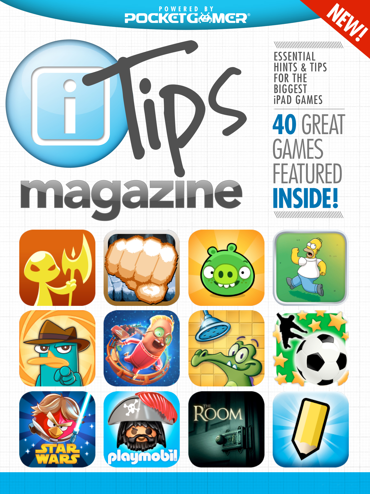 Launch issue of Pocket Gamer's iTips magazine is now available on the App Store