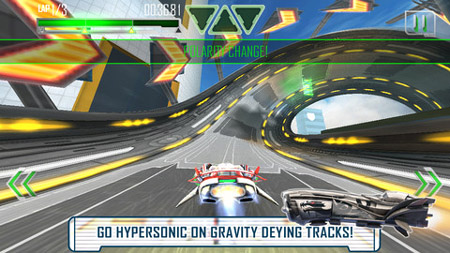 Sci-fi racer Repulze adds polarity shifts to the WipEout formula