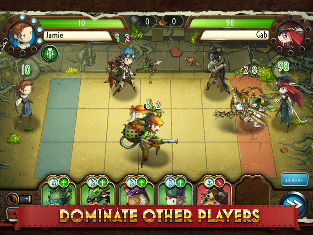 [Update] Heavenstrike Rivals is a new free to play multiplayer strategy RPG from Square Enix for Android