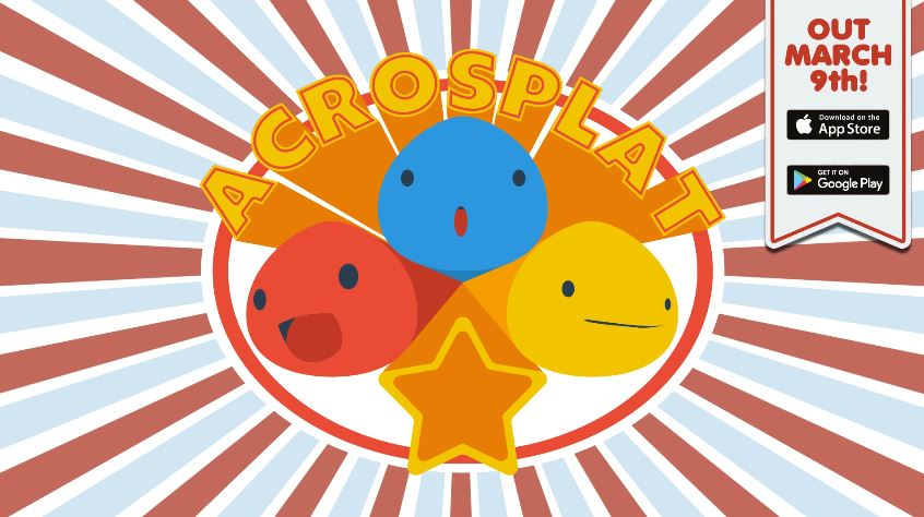 [Update] Get creative with paint blobs in the acrobatic puzzler AcroSplat, out now on iOS and Android