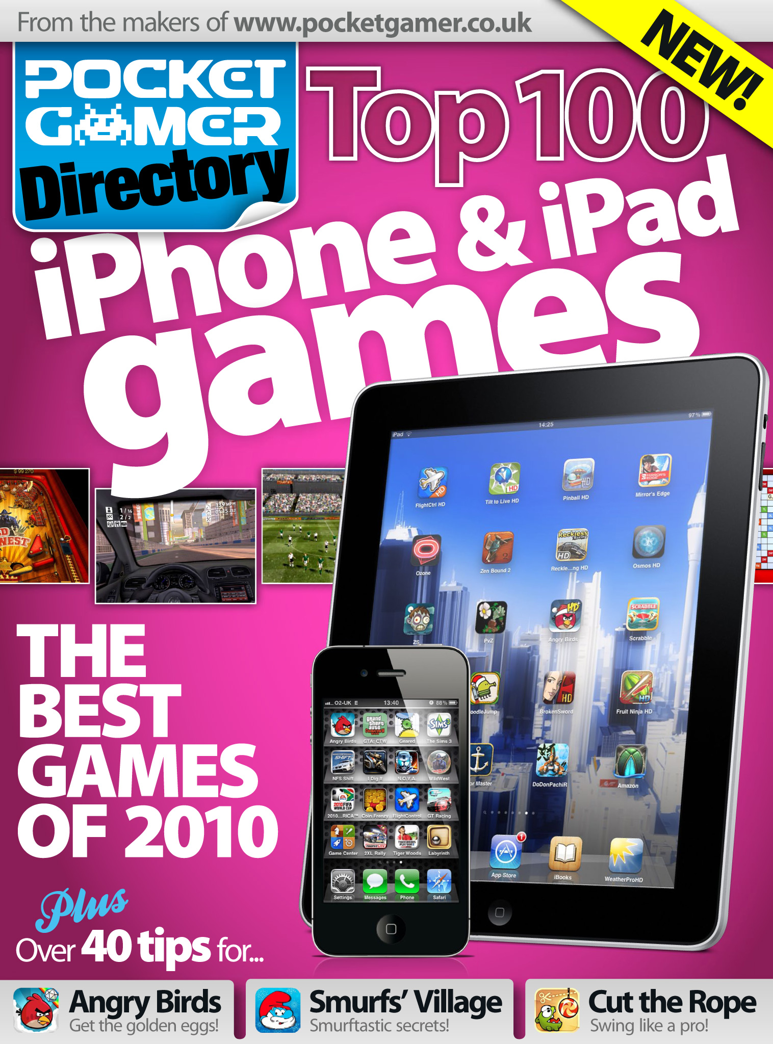 Pocket Gamer Directory Top 100 iPhone and iPad Games of 2010 guide is out now