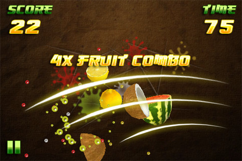 Free iPhone game: Fruit Slayer