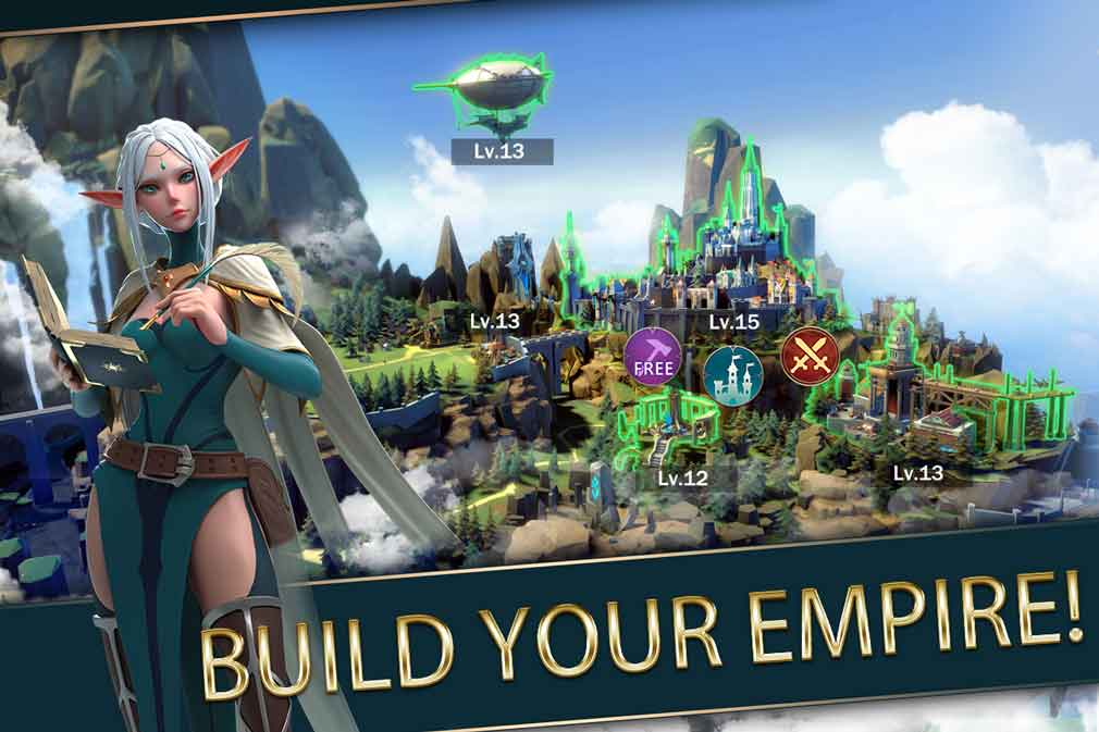 Fantasy MMORPG Mobile Royale is now available worldwide on iOS and Android