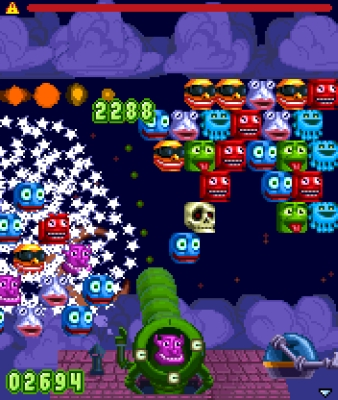 Snood Blaster heads for phones