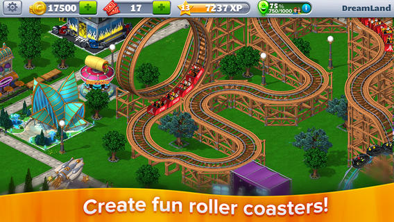Rollercoaster Tycoon 4 Mobile is now an actual free to play game instead of a pretend one