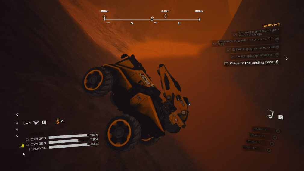 JCB Pioneer: Mars is a hilarious game for all the wrong reasons