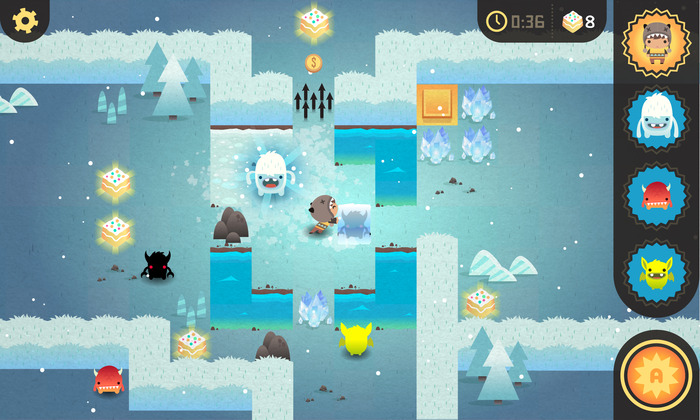You can grab amusing puzzler Monsters Ate My Birthday Cake for free on Android right now