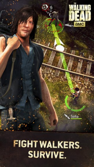 The Walking Dead: No Man's Land has now shuffled over to Android [Update]