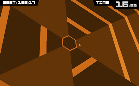 The utterly essential Super Hexagon is currently free on iPhone and iPad