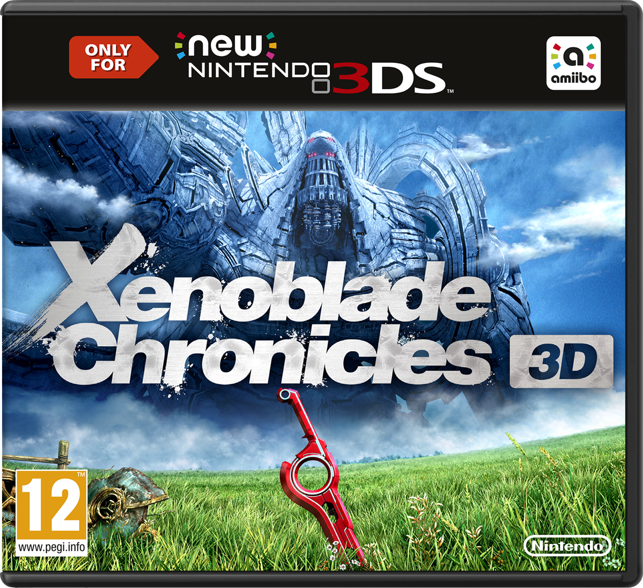 Digital version of Xenoblade Chronicles 3D doesn't fit on the New 3DS's standard SD card