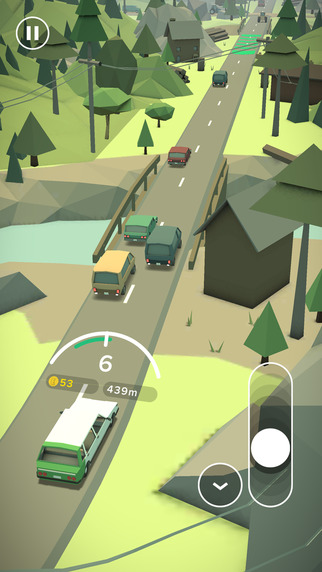 Out now: EcoDriver is a racing game about saving as much fuel as possible