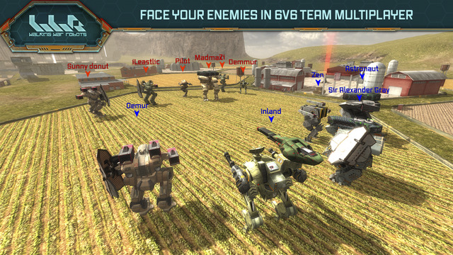 Mecha battler Walking War Robots gets a new map that encourages long-range warfare