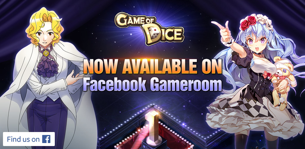 Experience the joy of playing Game of Dice on Facebook Gameroom
