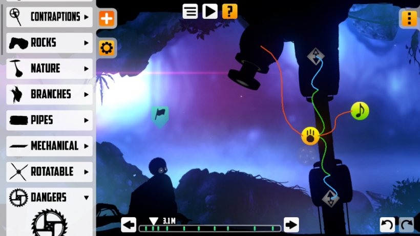 Jealous of Mario Maker? Badland just got a level editor so give that a go instead