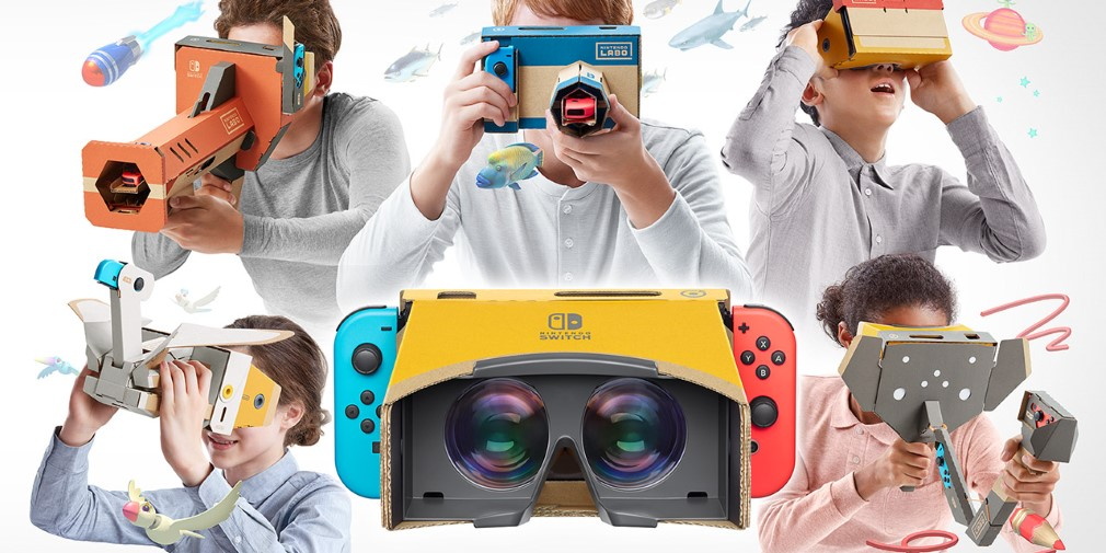 12 great games that are a perfect fit for the Labo VR Kit