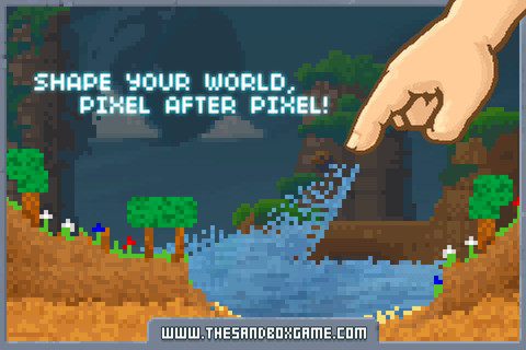Free-to-play pixel-art build-'em-up The Sandbox lands on iPhone