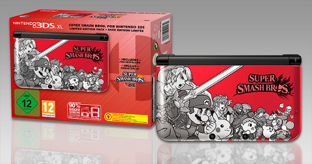 You can nab a limited edition Super Smash Bros. 3DS right now from the Nintendo Store