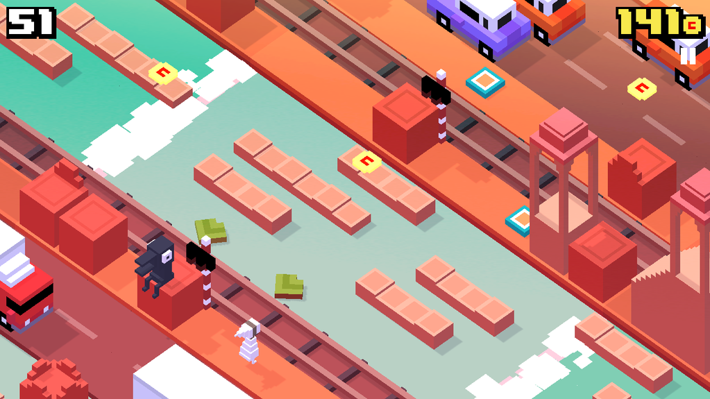 Now, iPad owners never have to stop playing Crossy Road