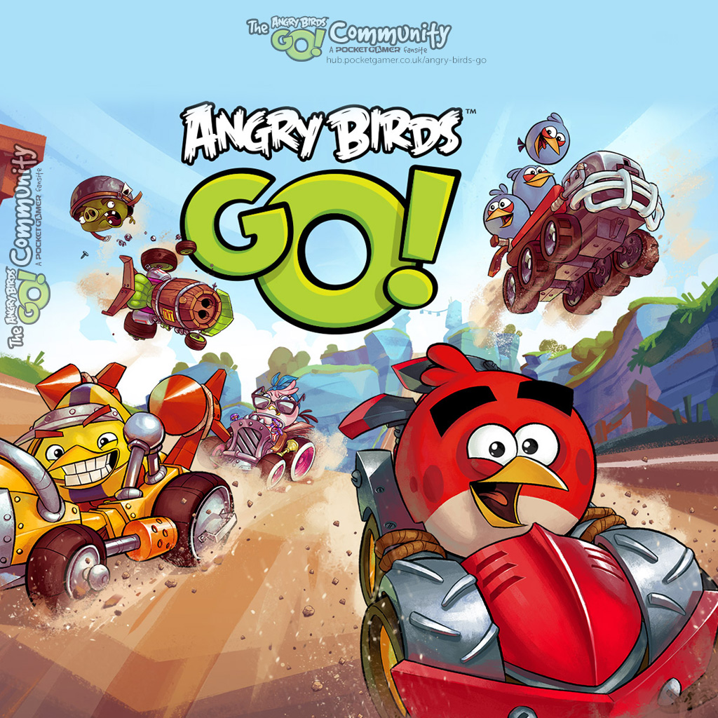 Angry Birds Go Wallpapers Angry Birds Go Pocket Gamer Game Hub
