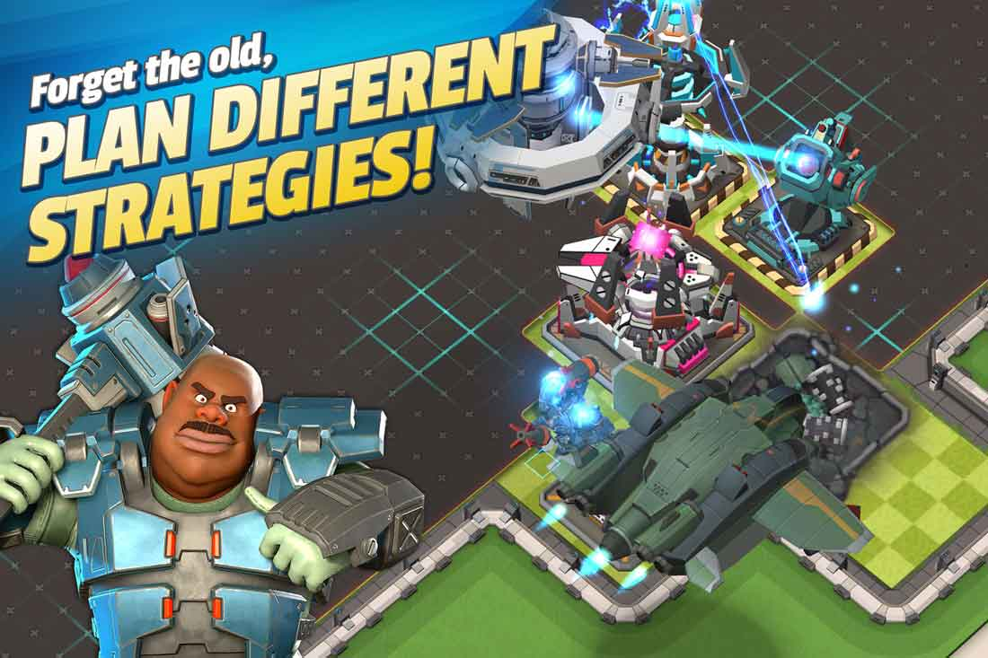Base-building strategy game Mad Rocket: Fog of War blasts off on mobile