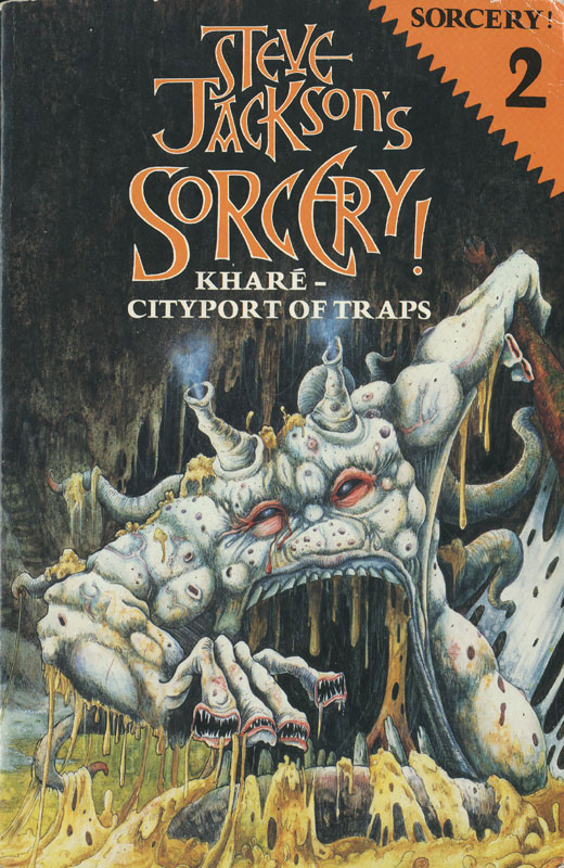 Part 2 of Steve Jackson's Gold Award-winning Fighting Fantasy spin-off Sorcery! will be published on iOS in late September / early October