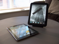 TouchPad vs iPad 2