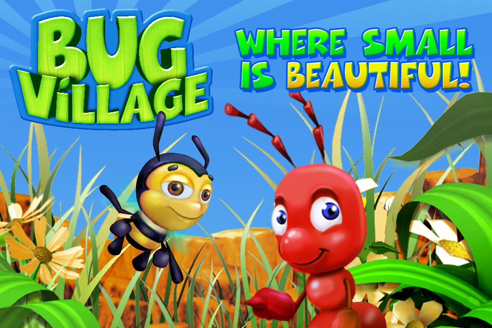 Freemium iPhone title Bug Village updated with social features, new houses, and missions