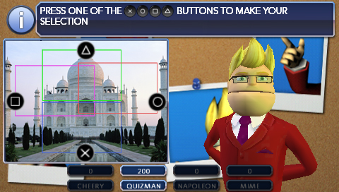 Sony (finally) announces quiz show Buzz! is coming to PSP