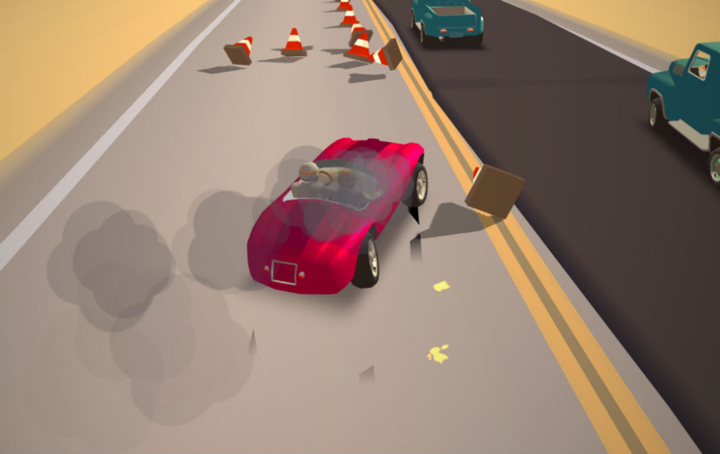 Great Race - Route 66 is a brand new arcade racer that channels the spirit of OutRun
