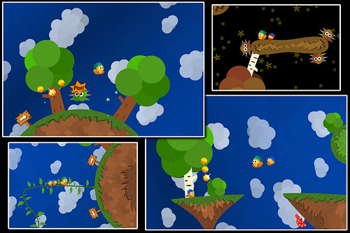 Gravity-defying iPhone platformer Soosiz released on App Store