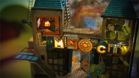How many times do we cry 'GORGEOUS' in this Lumino City hands on?