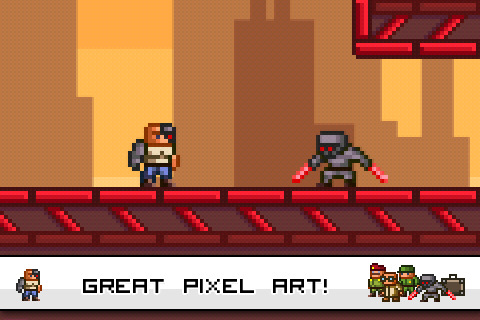 Promising pixel-art platformer League of Evil hits iPhone