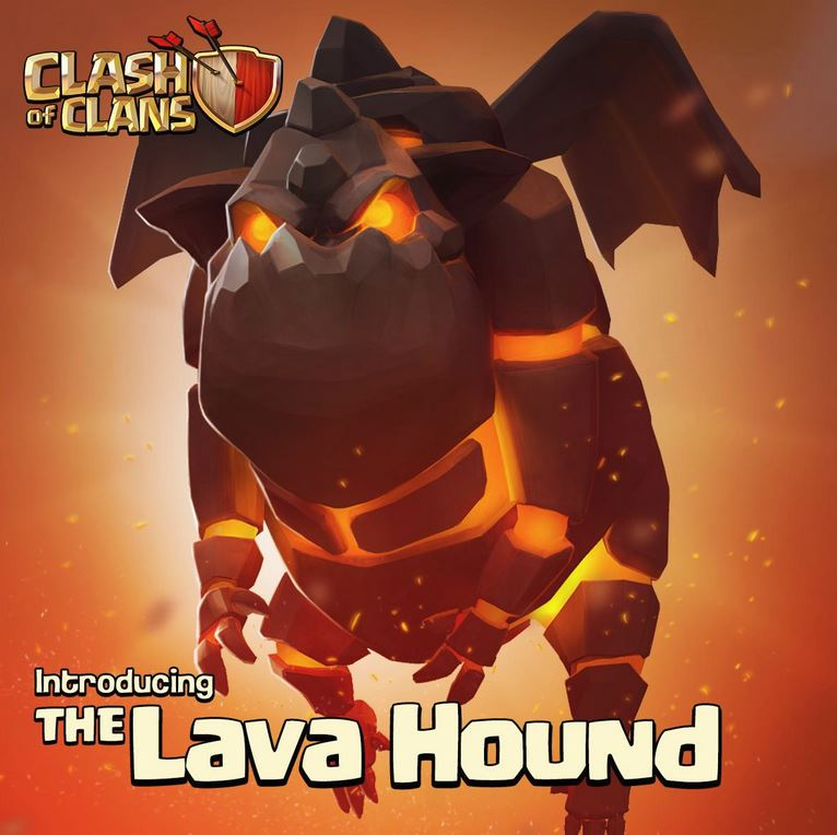 Clash of Clans updated with Dark troop Lava Hound, new levels, and more