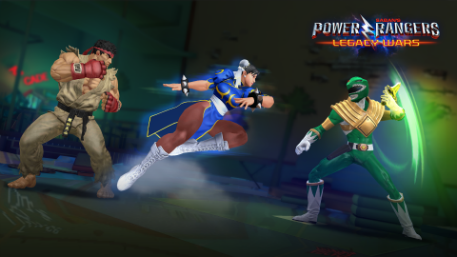 Worlds collide as Street Fighter joins up with Power Rangers: Legacy Wars