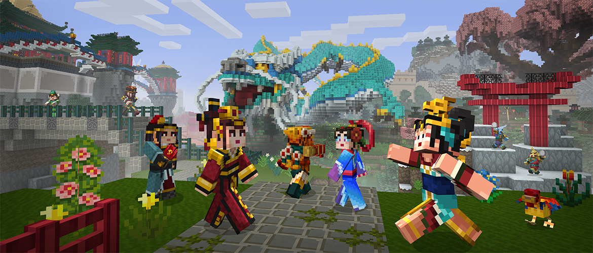 Minecraft: Pocket Edition's 1.0.6 update features Chinese Mythology, skins, and more