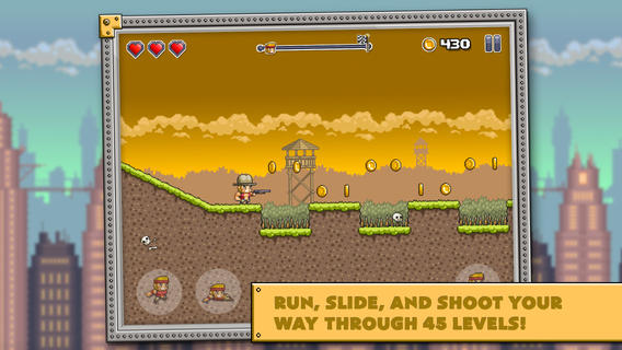 Out at midnight: Run-and-gun your way through rotting zombies in a chicken suit in Random Runners