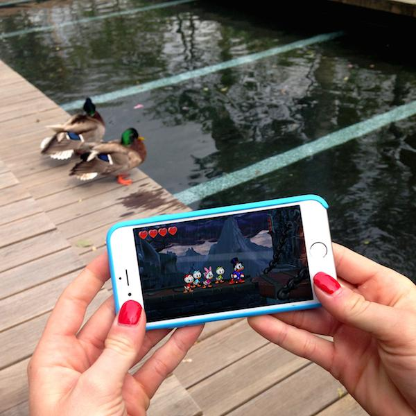DuckTales: Remastered could be coming to smartphones based on this tease from Disney
