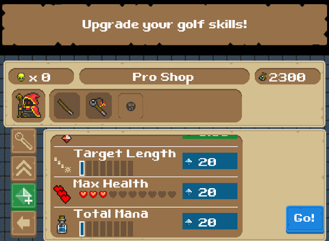 Out at midnight: Wizard Golf RPG replaces Tiger Woods with a Druid