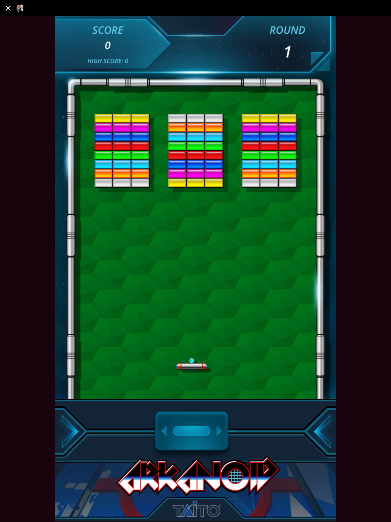 Arkanoid Facebook Messenger review