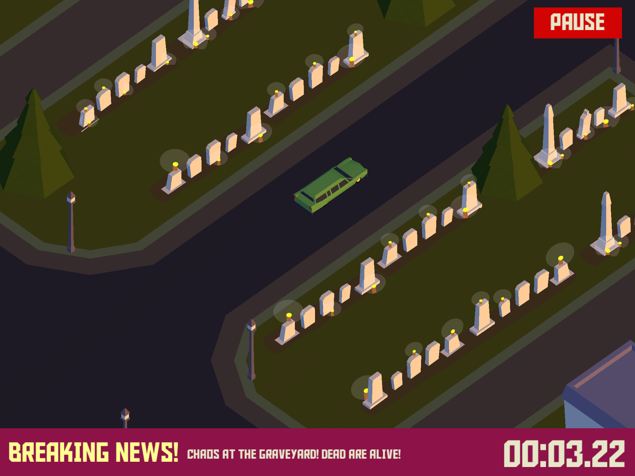 Car chase sim Pako veers into a major content update on iPhone and iPad