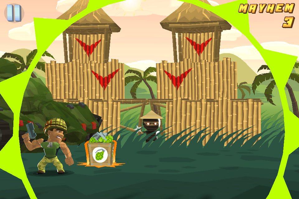 Silver Award-winning iOS game Major Mayhem receives massive update